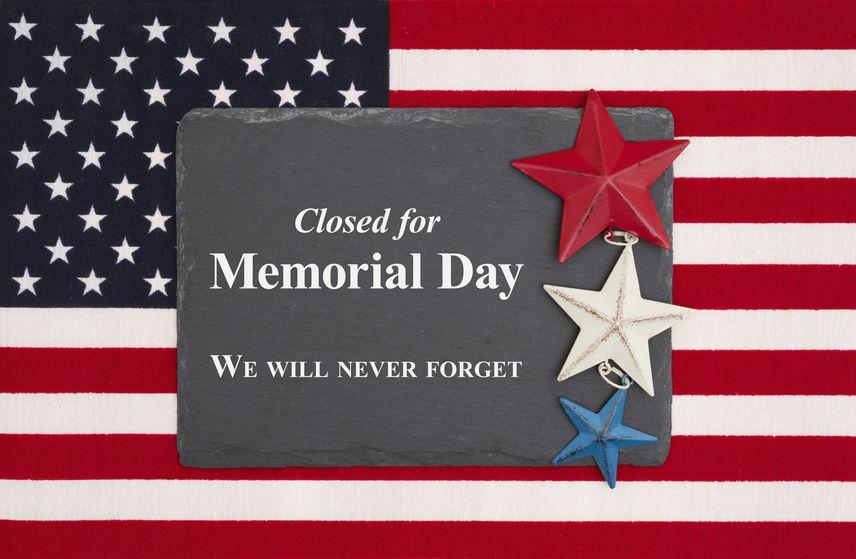 5/25(월) Memorial day 휴무