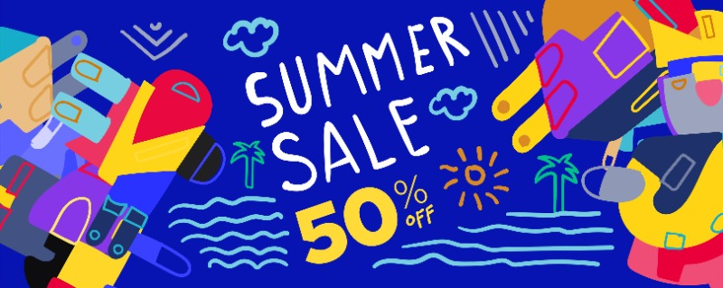 Summer Vacation 50%할인쿠폰 발행